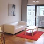 ( Pronajato ) Pronájem moderního zařízeného bytu 2+kk/B, Prokopova, Praha 3