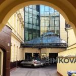 ( Pronajato )Pronájem 4 reprezentativních, klimatizovaných kanceláří 120 m2, Pobřežní ulice, Praha 8 - Florenc
