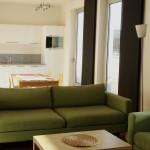 ( Pronajato ) Pronájem slunného zařízeného bytu 2+kk/B/T, Prokopova, Praha 3
