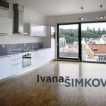 ( Prodáno ) Prodej moderního zařízeného bytu 3+kk/2xT, Prokopova, Praha 3