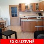 Pronájem světlého bytu 1+kk, 34 m2 + zahrádka 18 m2, Okružní ulice, Olomouc