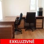 ( Pronajato ) Pronájem světlé kanceláře,15 m2 + terasa 16 m2, ulice Pod altánem, Praha 10, Strašnice