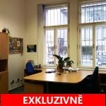 ( Pronajato ) Pronájem samostatného administrativního prostoru, Pobřežní, Praha 8 - Karlín