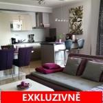 ( Pronajato ) Pronájem světlého bytu 2+kk s balkonem ulice Rižská - Praha 10