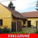 ( Prodáno) Prodej cihlového domu 2+1 se zahradou, Červené Pečky - Dolany, okres Kolín