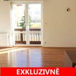 Pronájem bytu 2+kk s lodžií, 75 m2, ulice Na Sídlišti, Průhonice - Praha Západ