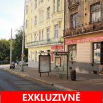 Pronájem obchodních prostor se dvěma výlohami, 64 m2, ulice Táborská, Praha 4 - Nusle