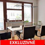 ( Pronajato ) Pronájem samostatného, reprezentativního, administrativního prostoru se dvěma balkony a GS, 124 m2,  ul. Na Pankráci, Praha 4 - Nusle