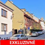 Prodej světlého bytu 2+1 se sklepem, celková rozloha 60 m2 v historickém centru města Mikulov