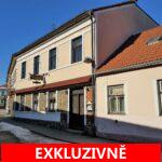 Prodej prostorného, patrového, rodinného domu  6+1 se zahradou + vinárna/kavárna, Žirovnice, okres Pelhřimov