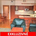 ( Pronajato ) Pronájem světlého bytu 2+kk s balkonem a GS, ulice Za Valem, Praha 4 -Kunratice