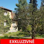 ( Prodáno ) Prodej rodinného domu s velkou zahradou a terasou, užitná plocha 335 m2, Praha - Klánovice.