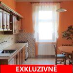 (Prodáno) Prodej světlého bytu po rekonstrukci 3+1/B  102,1 m2 se sklepem 8 m2 a zahradou U Národní galerie - Praha 5 - Zbraslav