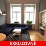 ( Pronajato ) Pronájem prostorného bytu 3+1/B v ul. Drtinova, Praha 5 - Smíchov