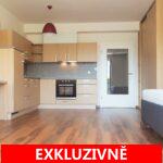 ( Prodáno ) Prodej světlého bytu s hezkým výhledem 1+kk se sklepem, 42 m2, Tvrdonická ul. Praha - Zličín