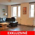 Prodej velkoryse řešeného bytu  3+kk, se zastřešenou terasou do vnitrobloku, balkonem a sklepem, ulice Za Valem, Praha 4 – Kunratice