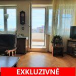 Prodej světlého bytu s terasou s výhledem na Pražský hrad 3+1, ulice Talichova, Praha 6 - Břevnov